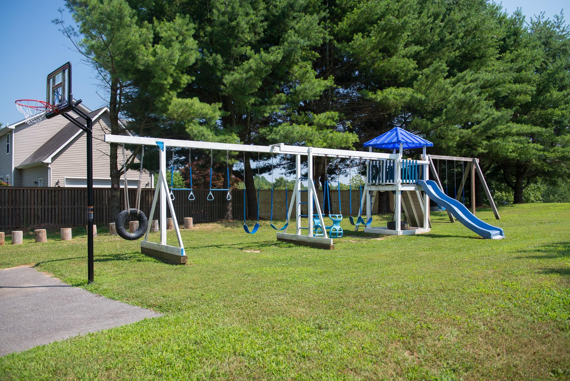 <p>The playground</p>