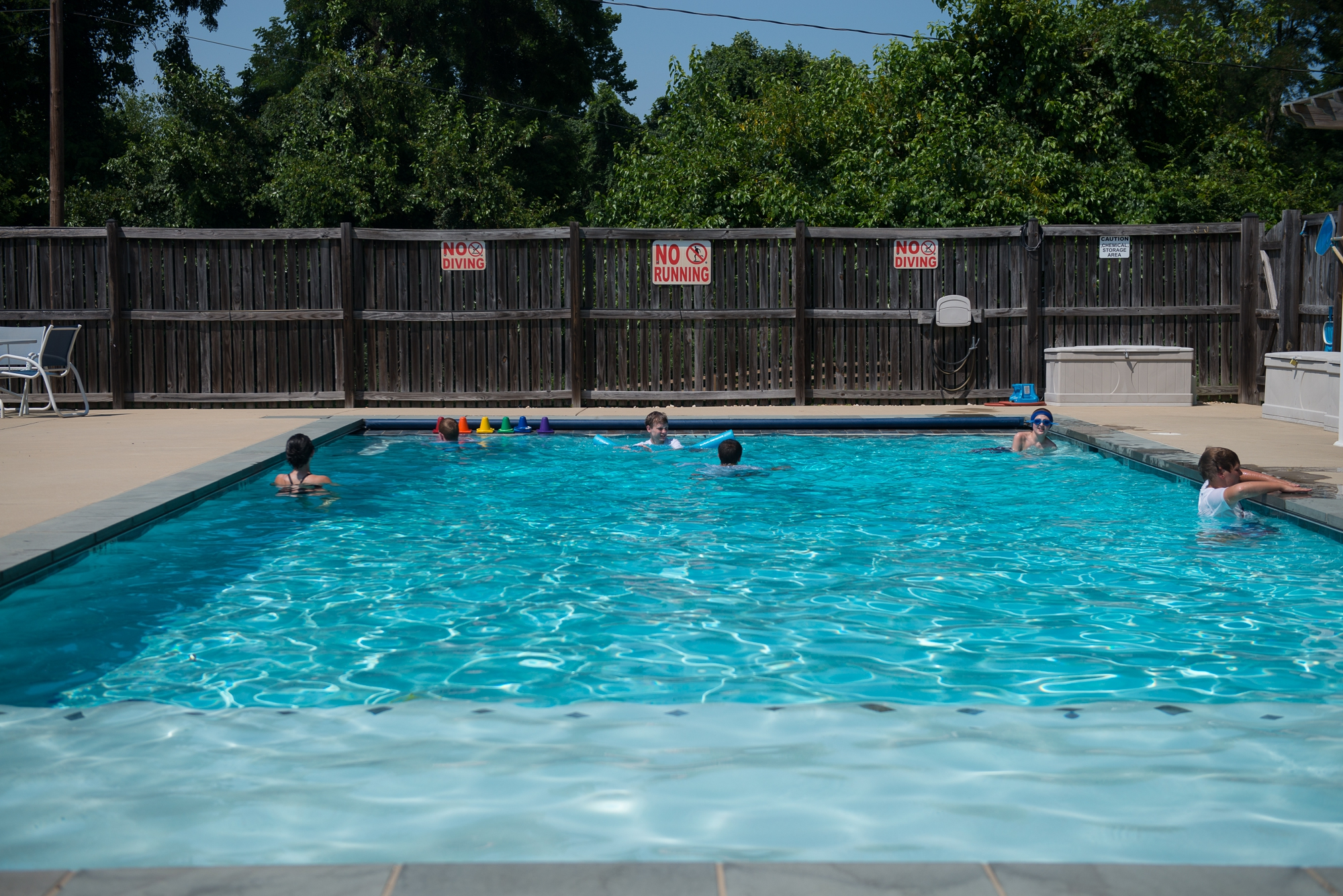 <p>The pool area</p>