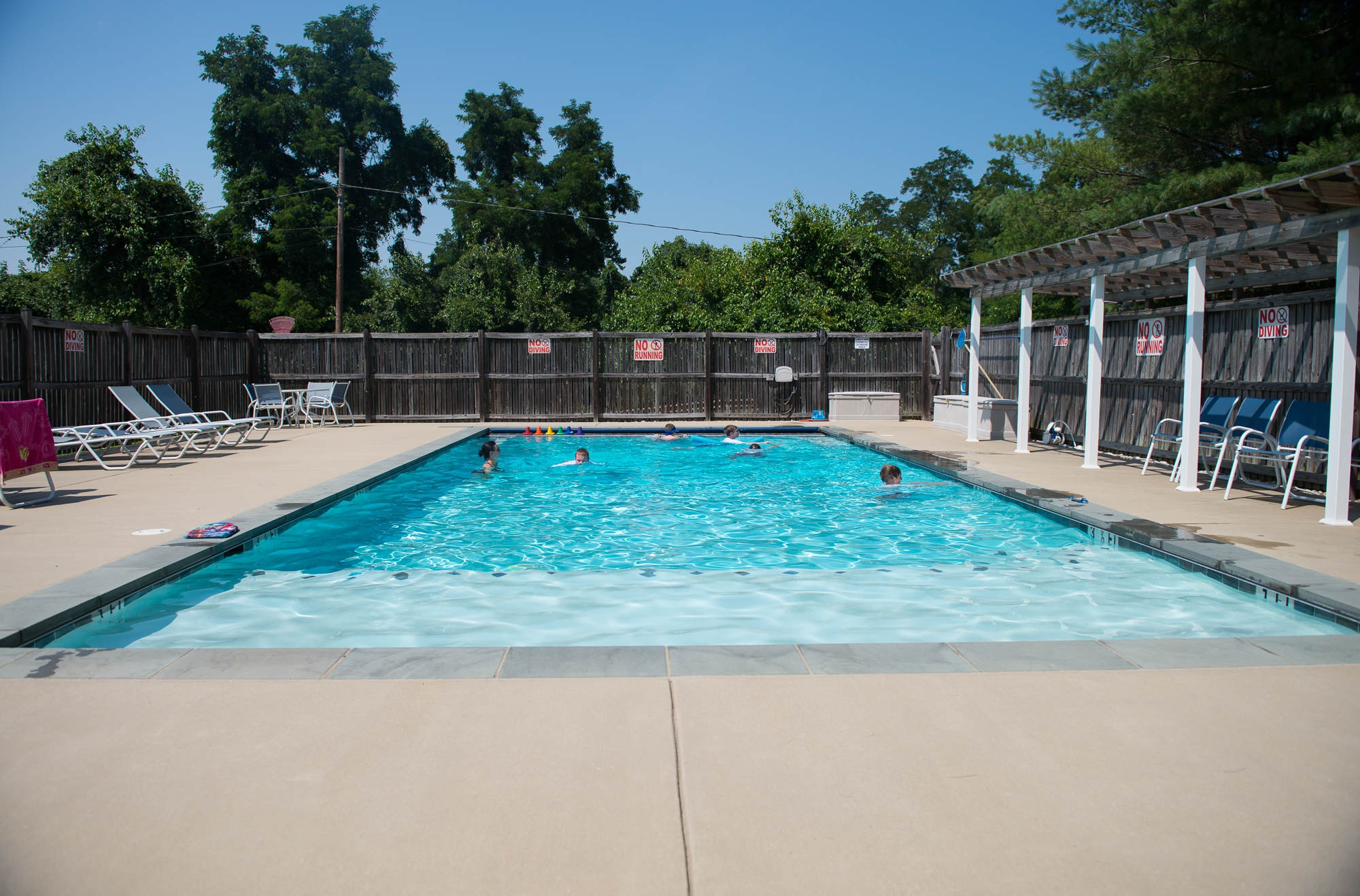 <p>The pool</p>